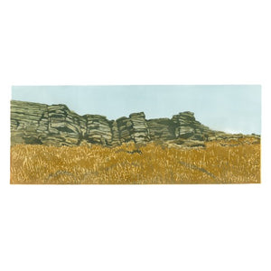 "Art Card - ""Popular end - Stanage Edge"""