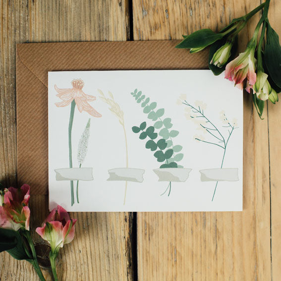 Single Stems Card