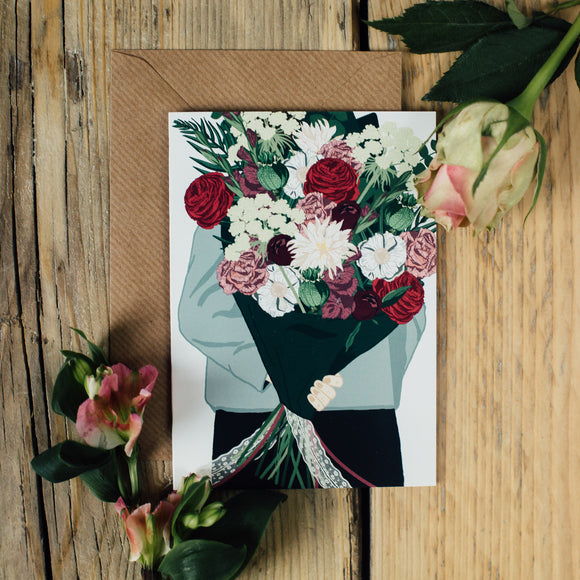 Surprise Bouquet Card