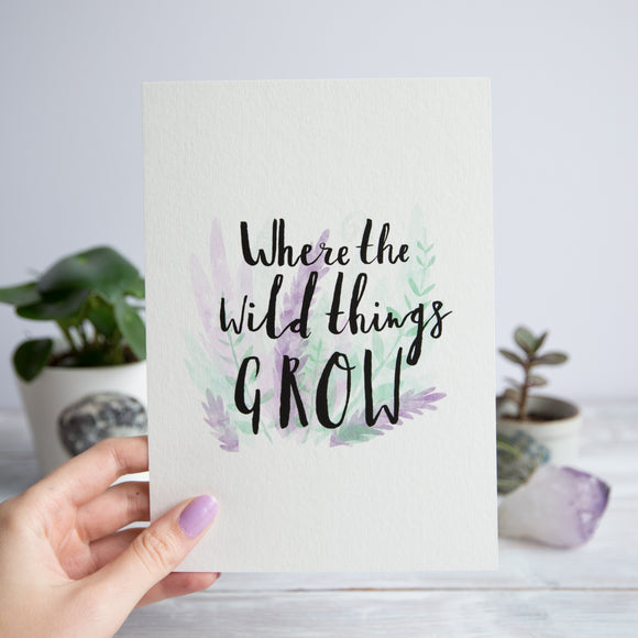 Where the Wild Things Print