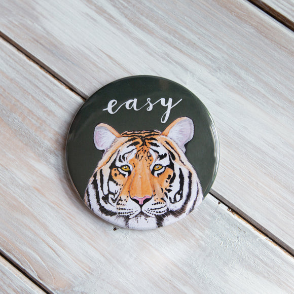 Easy Tiger Pocket Mirror
