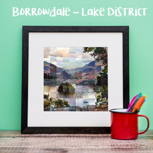 """100 Remnants of Borrowdale - Lake District"" Photo Montage"