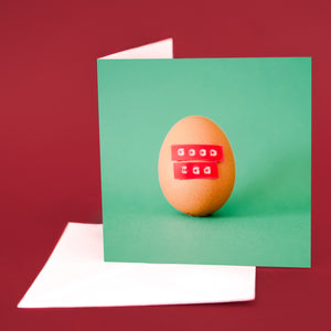 "Label Card ""Good Egg"""