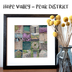 """16 Fragments of Hope Valley"" Photo Montage"
