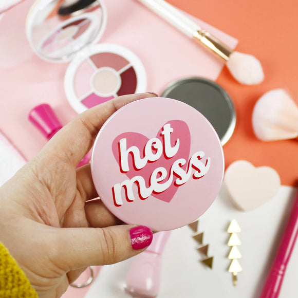Hot Mess - Pocket Mirror