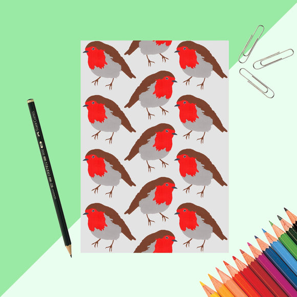 Robin Print Notebook