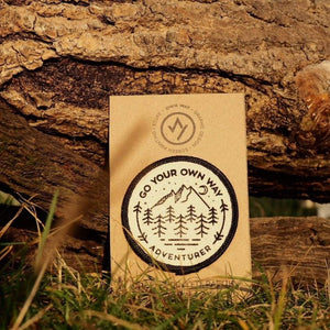 Go Your Own Way - Organic Cotton Patch
