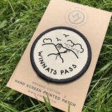 Winnats Pass - Peak District - Organic Cotton Patch