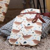 Wren Print Hot Water Bottle