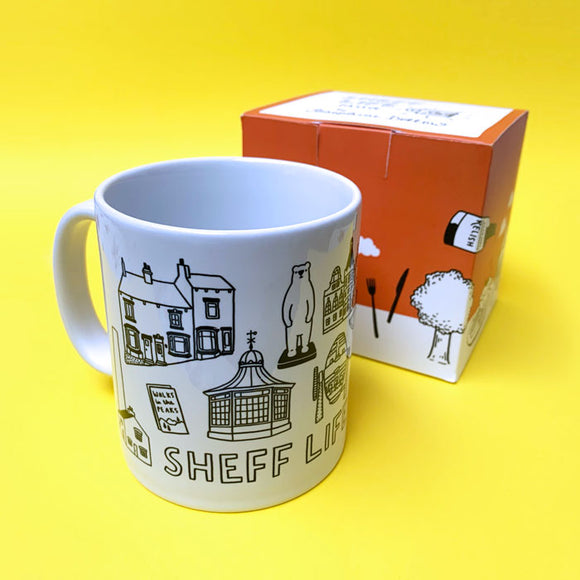 Sheff Life Ceramic Sheffield Mug
