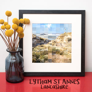 """100 Remnants of Lytham St Anne's"" Photo Montage"