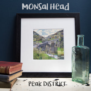 """100 Remnants of Monsal Head"" Photo Montage"