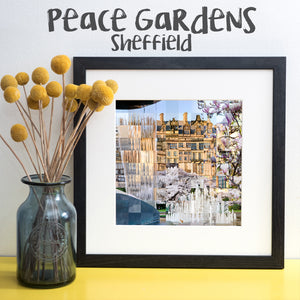 """100 Remnants of Sheffield Peace Gardens"" Photo Montage"