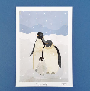 A5 Penguin Digital Print