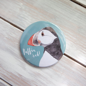 Puffin Eck Pocket Mirror