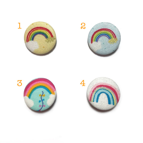 Rainbow Fabric Badges