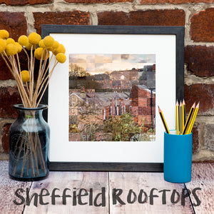 """100 Remnants of Sheffield Rooftops"" Photography Print"