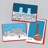 Sheffield Buildings Christmas Cards - Pack of 6