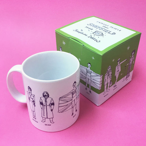 Famous People from Sheffield Ceramic Mug