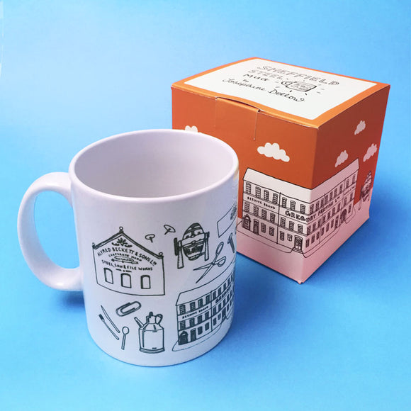 Sheffield Steel Icons Ceramic Mug
