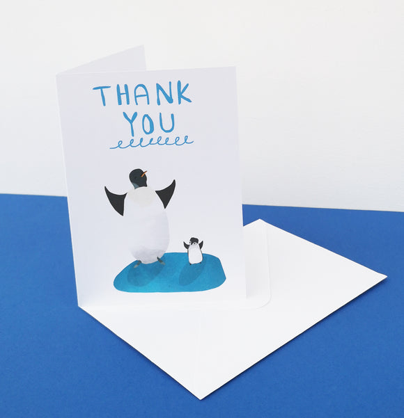 Thank You Penguin Card