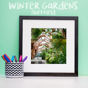 """100 Remnants of Sheffield Winter Garden"" Photo Montage"