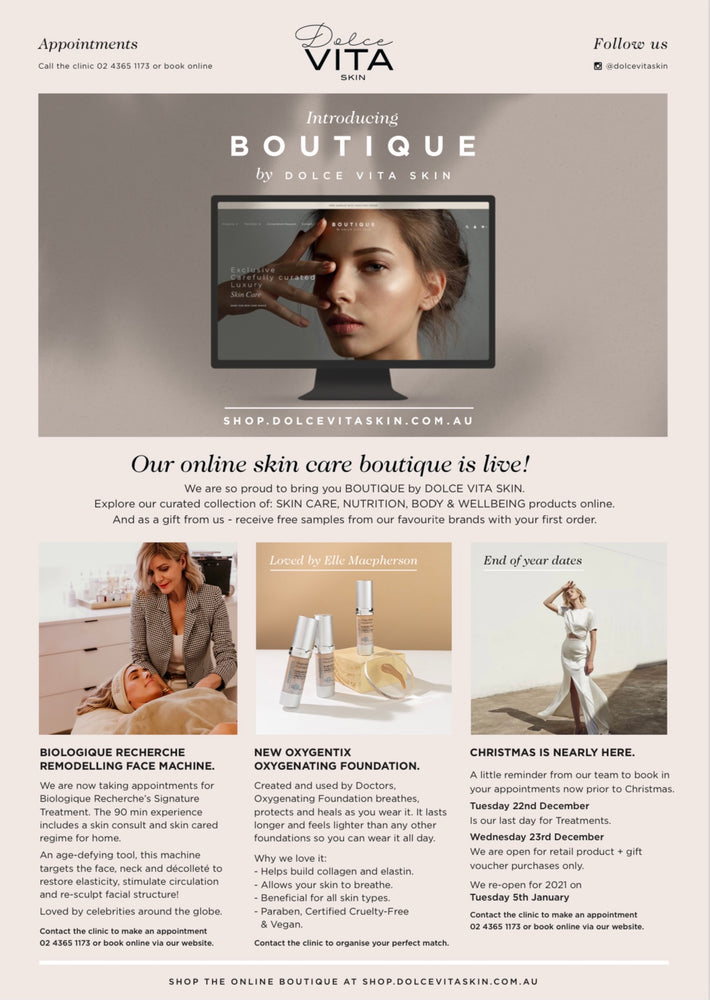 CHECK YOUR INBOX - Your Skin Care News has arrived