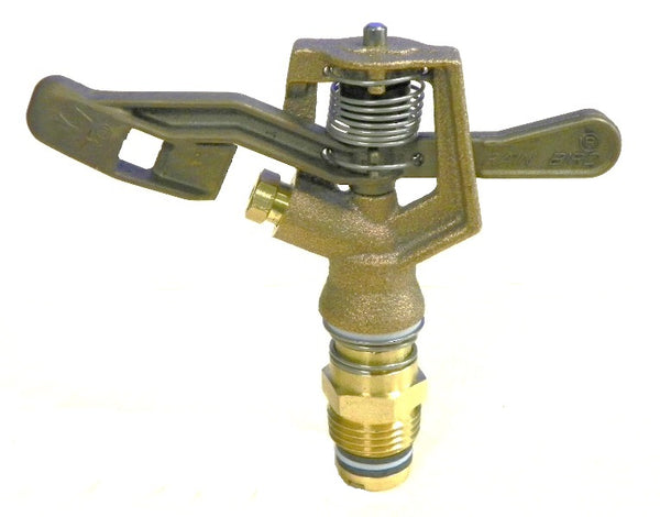 "0.5"" MPT Full Circle Brass Impact Sprinkler"