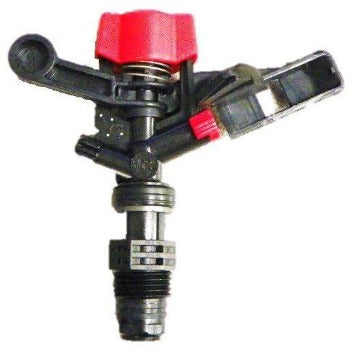 NAAN 5022 Plastic Impact Sprinkler with Red Nozzle