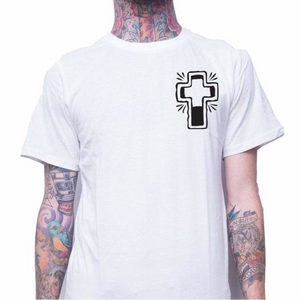 Front design of Unisex Dogtown Tee - White - Imprint Merch - E-commerce