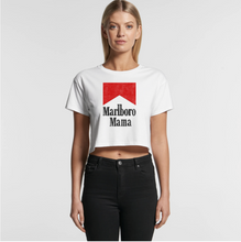 Load image into Gallery viewer, Marlboro Mama Crop Tee