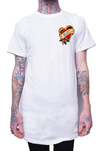 Butts Tee - White