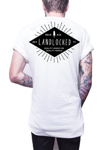 Diamond In The Rough Tee - White