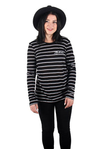 SHIPMATE STRIPE WOMANS LONG SLEEVE