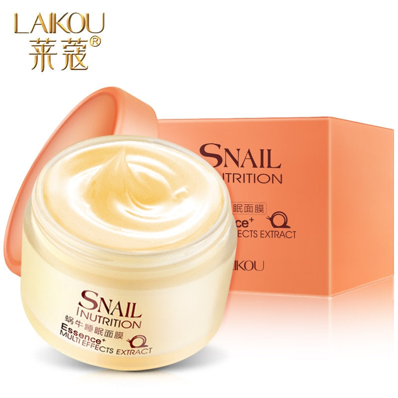 Snail Essence Sleeping Mask
