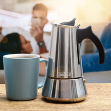 Load image into Gallery viewer, Induction Stovetop Espresso Maker - by The London Sip Company