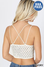 Load image into Gallery viewer, Spaghetti Strap Bralette