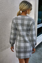 Load image into Gallery viewer, A Day in Plaid Dress