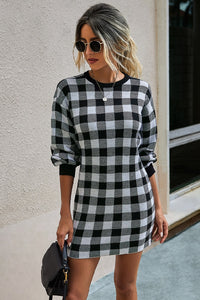 A Day in Plaid Dress