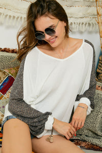 Carry On Waffle Knit Top