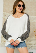 Load image into Gallery viewer, Carry On Waffle Knit Top