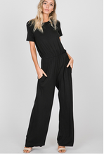 Load image into Gallery viewer, Back in Black Jumpsuit