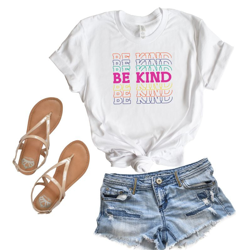 Be Kind Colorful Tee