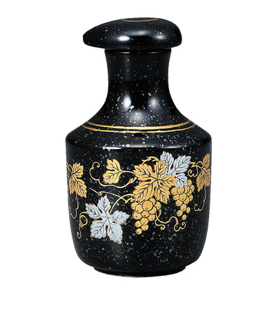 Japanese Kutani Porcelain Soy Sauce Bottle Jar