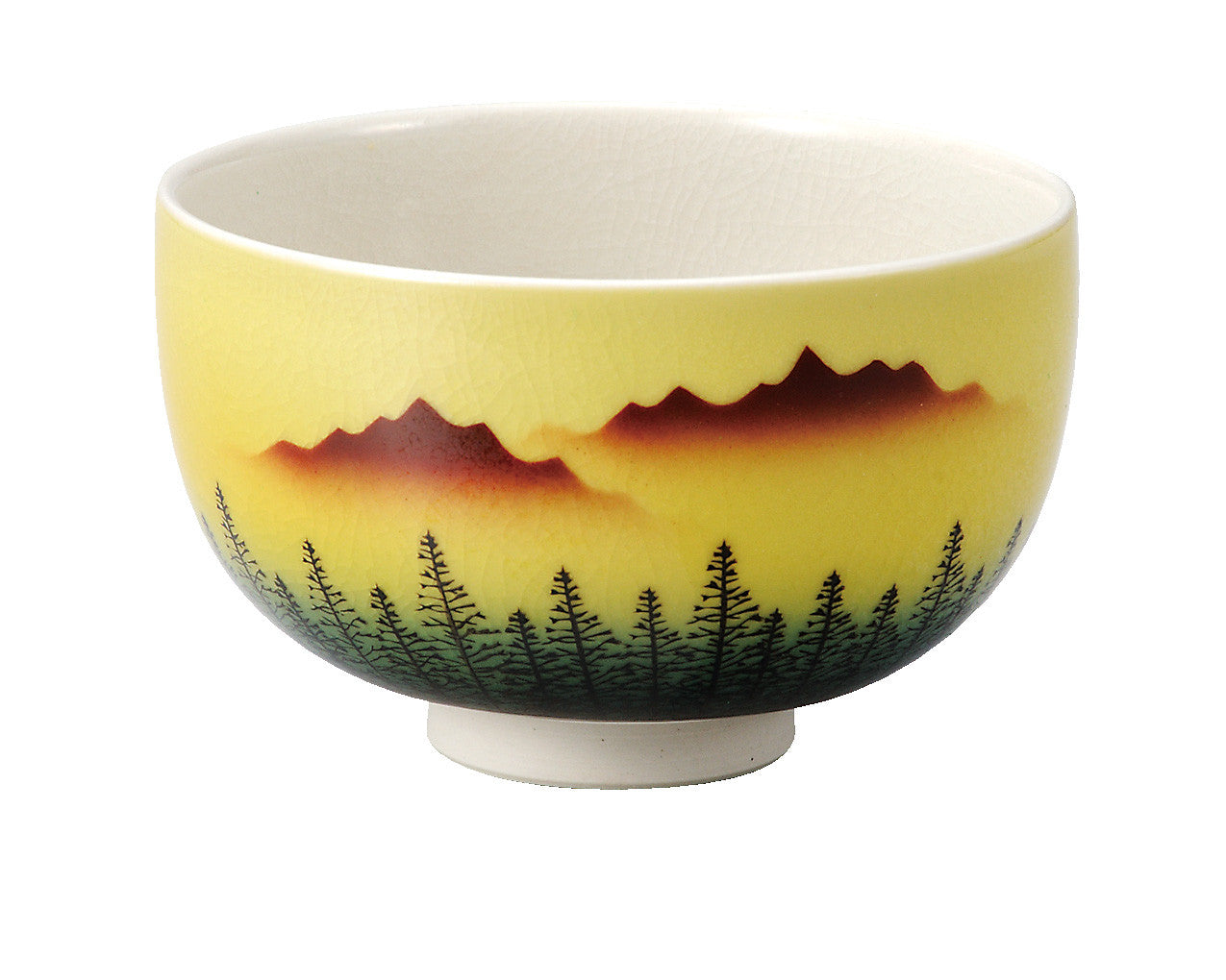 japan kutani matcha tea bowl