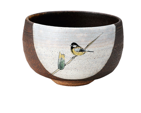 japanese simple tea bowl for tea ceremony