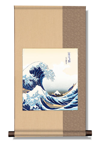 japanese hanging scroll hokusai ukiyo-e