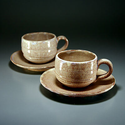 Japanese Hagi Coffee Cups Sets