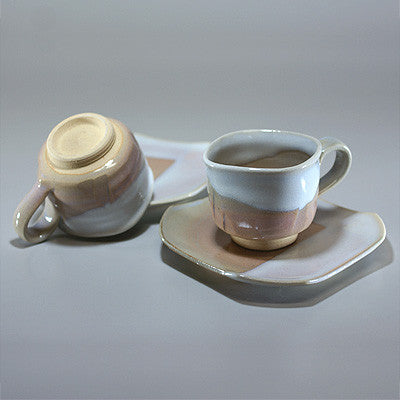 Made in Japan Hagi ware Coffee Cup Set