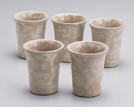 HAGI Japanese Beer Cups Set Hime Hagi